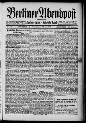 Berliner Abendpost on Jun 22, 1893