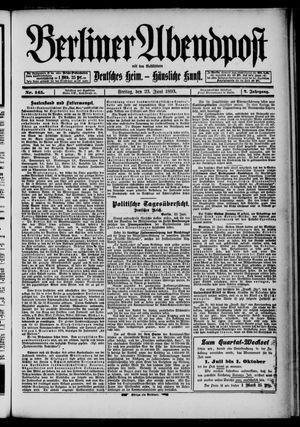 Berliner Abendpost on Jun 23, 1893