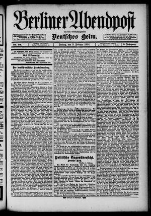 Berliner Abendpost vom 09.02.1894