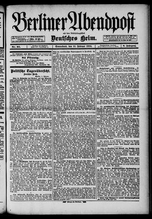 Berliner Abendpost on Feb 10, 1894
