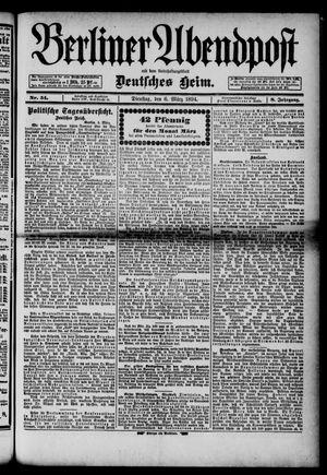 Berliner Abendpost on Mar 6, 1894