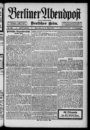 Berliner Abendpost on Mar 8, 1894