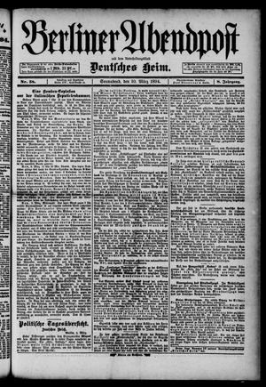Berliner Abendpost on Mar 10, 1894