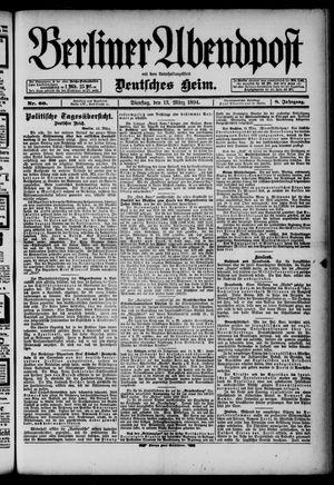 Berliner Abendpost on Mar 13, 1894