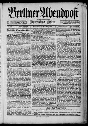Berliner Abendpost on Mar 31, 1894