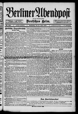 Berliner Abendpost on Jun 21, 1894