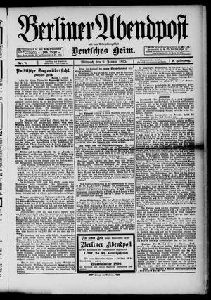 Berliner Abendpost on Jan 9, 1895