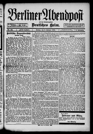Berliner Abendpost vom 08.02.1895