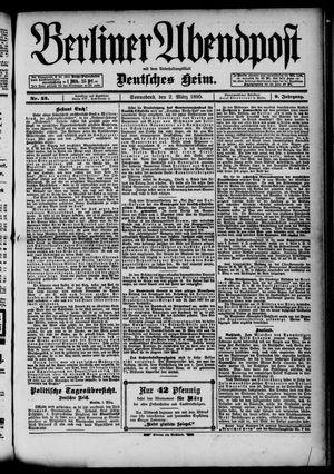 Berliner Abendpost on Mar 2, 1895