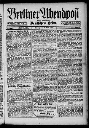 Berliner Abendpost on Mar 19, 1895
