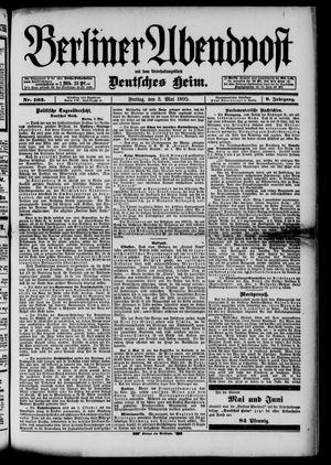 Berliner Abendpost vom 03.05.1895
