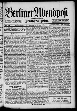 Berliner Abendpost on Jun 2, 1895