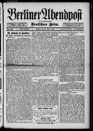 Berliner Abendpost on Jun 21, 1895