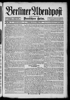 Berliner Abendpost on Mar 10, 1896
