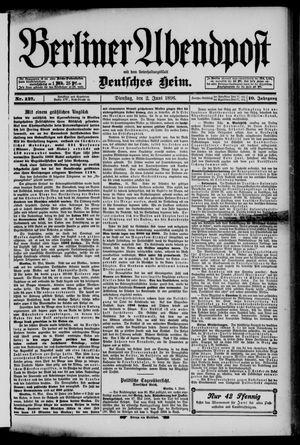Berliner Abendpost on Jun 2, 1896