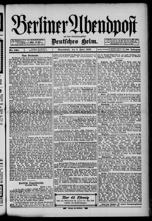 Berliner Abendpost on Jun 6, 1896