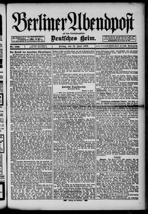 Berliner Abendpost on Jun 12, 1896