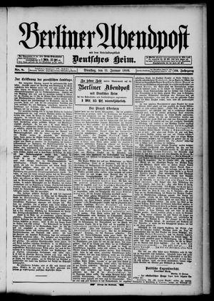 Berliner Abendpost on Jan 11, 1898