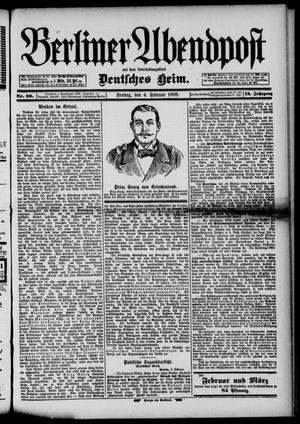 Berliner Abendpost on Feb 4, 1898