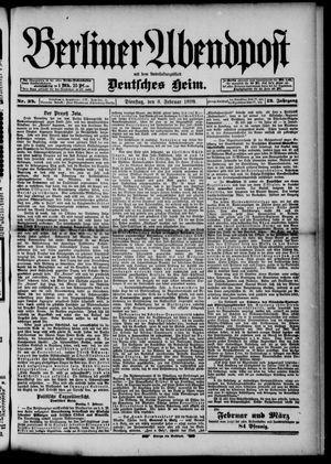 Berliner Abendpost on Feb 8, 1898