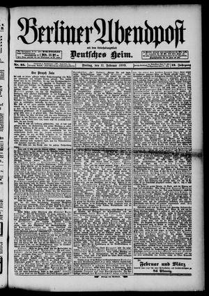 Berliner Abendpost on Feb 11, 1898
