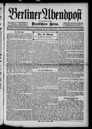 Berliner Abendpost on Feb 26, 1898