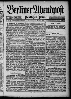 Berliner Abendpost on Mar 17, 1898