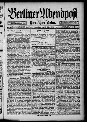 Berliner Abendpost on Mar 19, 1898