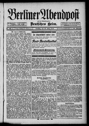 Berliner Abendpost on Mar 22, 1898