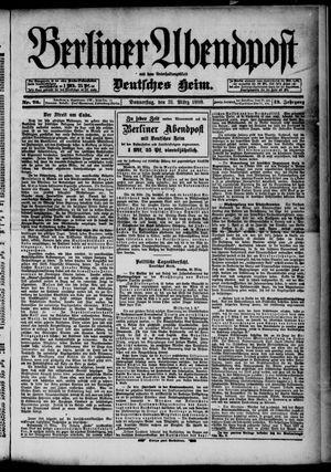 Berliner Abendpost on Mar 31, 1898