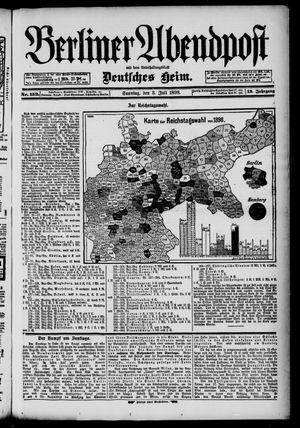 Berliner Abendpost on Jul 3, 1898