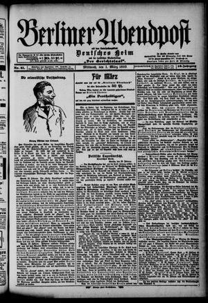 Berliner Abendpost on Mar 1, 1899