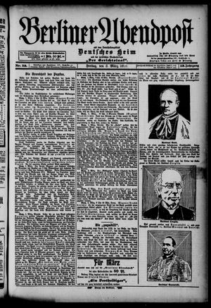 Berliner Abendpost on Mar 3, 1899