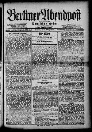 Berliner Abendpost on Mar 5, 1899
