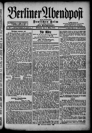 Berliner Abendpost on Mar 8, 1899