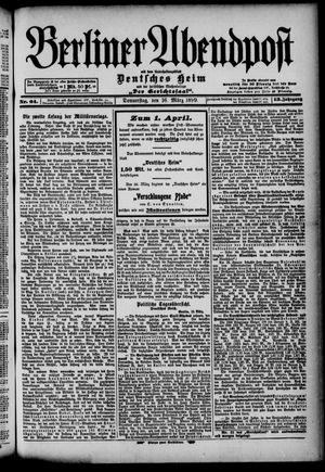Berliner Abendpost on Mar 16, 1899