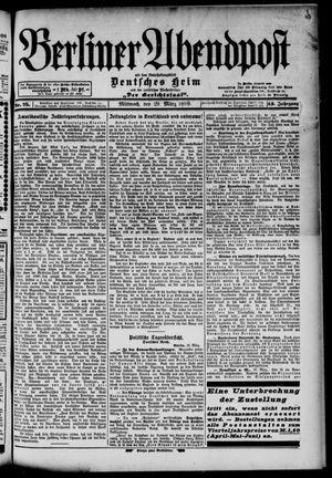 Berliner Abendpost on Mar 29, 1899