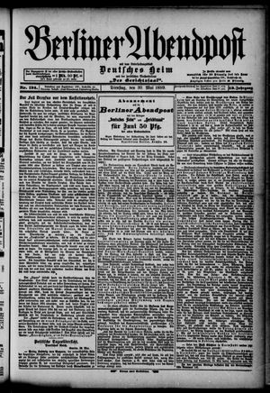 Berliner Abendpost on May 30, 1899