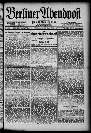 Berliner Abendpost on Jun 21, 1899
