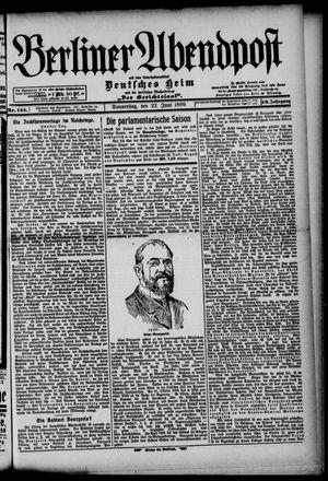 Berliner Abendpost on Jun 22, 1899