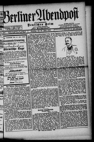 Berliner Abendpost on Jun 25, 1899