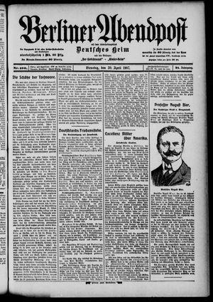 Berliner Abendpost on Apr 30, 1907