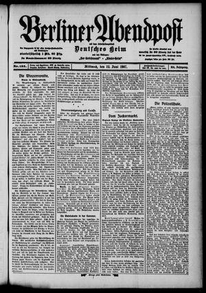 Berliner Abendpost vom 12.06.1907