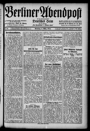 Berliner Abendpost on Mar 8, 1914
