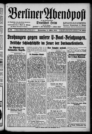 Berliner Abendpost on Mar 11, 1915