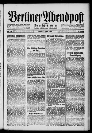 Berliner Abendpost on Jun 4, 1920
