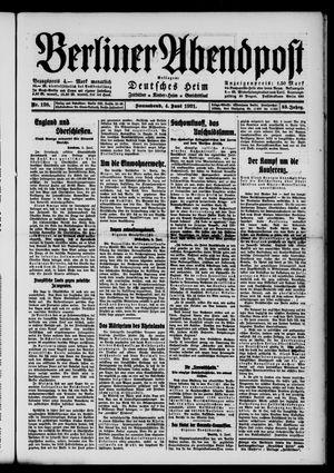 Berliner Abendpost vom 04.06.1921
