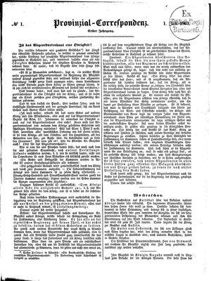 Provinzial-Correspondenz vom 01.07.1863