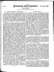 Provinzial-Correspondenz (19.08.1863)