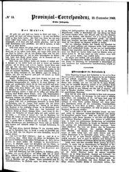 Provinzial-Correspondenz (23.09.1863)